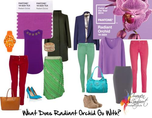 What to wear with Radiant Orchid